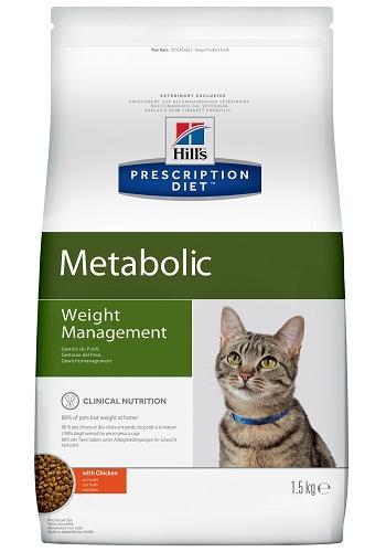 Hill's Prescription Diet Metabolic Weight Management сухой корм для кошек при ожирении