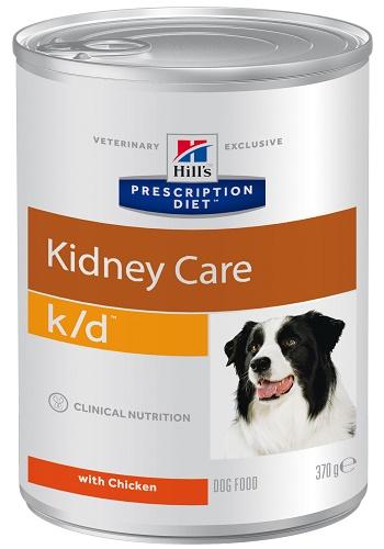 Hill's Prescription Diet K/D Kidney Care влажный корм для собак при заболеваниях почек
