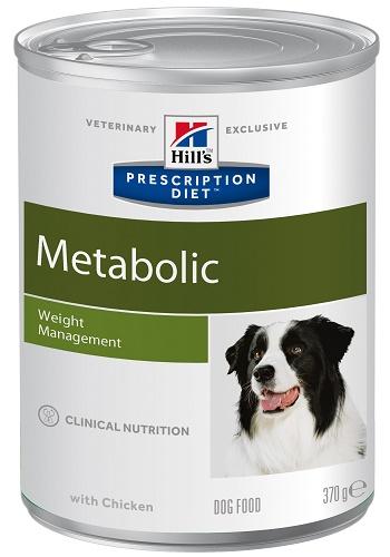 Hill's Prescription Diet Metabolic Weight Management влажный корм для собак при ожирении