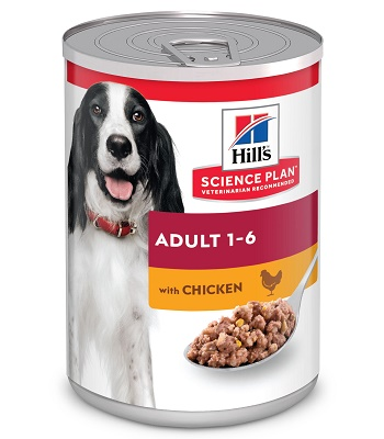Hill's Science Plan Adult консервы для взрослых собак с курицей