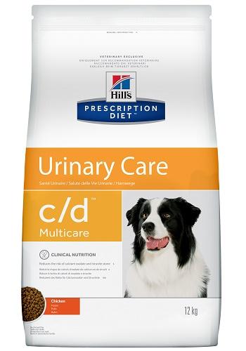 Hill's Prescription Diet C/D Urinary Care сухой корм для собак при МКБ