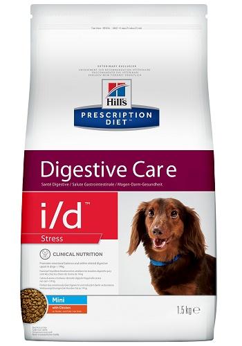 Hill's Prescription Diet I/D Stress Mini Digestive Care сухой корм для собак при заболеваниях ЖКТ