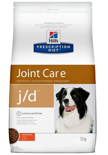 Hill's Prescription Diet J/D Joint Care сухой корм для собак при заболеваниях суставов