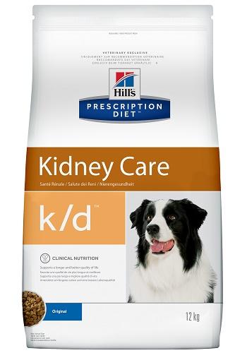 Hill's Prescription Diet K/D Kidney Care сухой корм для собак при заболеваниях почек