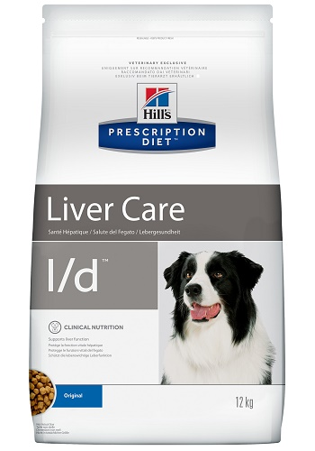 Hill's Prescription Diet L/D Liver Care сухой корм для собак при заболеваниях печени