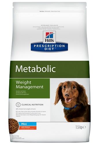 Hill's Prescription Diet Metabolic Weight Management Mini сухой корм для мелких собак при ожирении