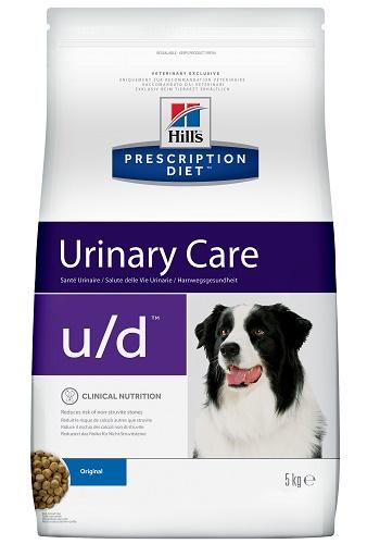 Hill's Prescription Diet U/D Urinary Care сухой корм для собак при почечной недостаточности