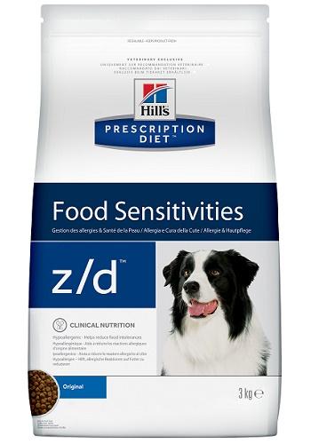 Hill's Prescription Diet Z/D Food Sensitivities сухой корм для собак при пищевой аллергии