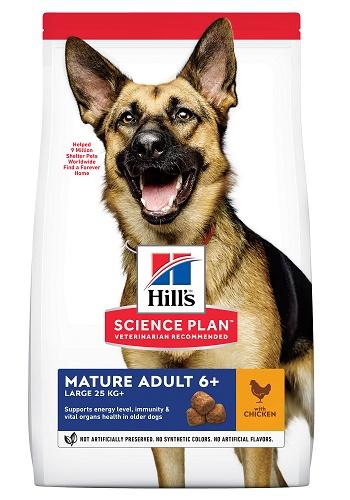 Hill's Science Plan Mature Adult сухой корм для пожилых собак крупных пород