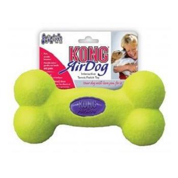 Kong Air игрушка с пищалкой для собак Косточка большая 23 см