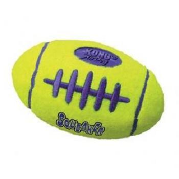Kong Air игрушка с пищалкой для собак Регби большая 19 см