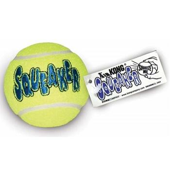 Kong Air игрушка с пищалкой для собак Теннисный мяч большой 8 см