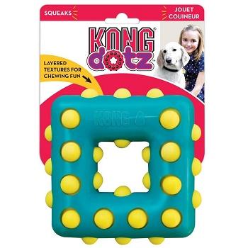 Kong Dotz игрушка для собак Квадрат 9 см