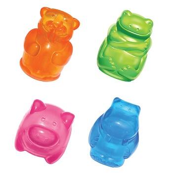 Kong Squeezz Jels игрушка для собак в форме животного 8 см