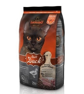 Leonardo Adult Duck сухой корм для кошек c уткой SALE