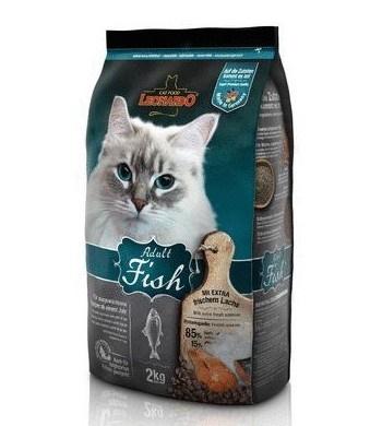 Leonardo Adult Fish сухой корм для кошек с рыбой