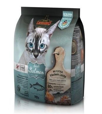 Leonardo Adult Salmon GF сухой беззерновой корм для кошек