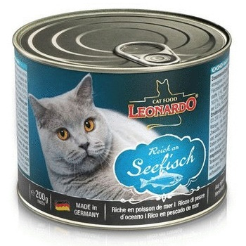 Leonardo Quality Selection Rich In Fish консервы для кошек с рыбой
