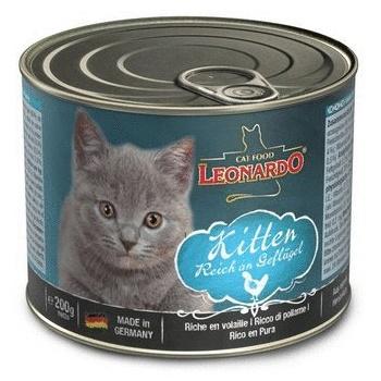 Leonardo Quality Selection Kitten Rich in Poultry консервы для котят с птицей