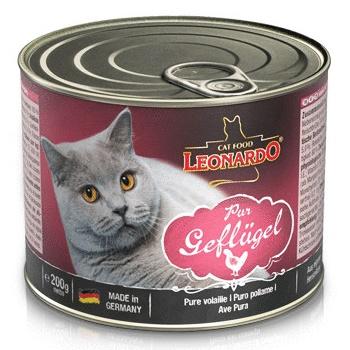 Leonardo Quality Selection Pure Poultry консервы для кошек с птицей