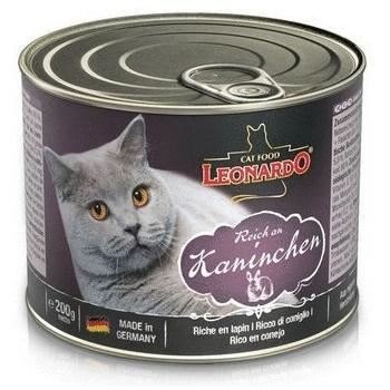 Leonardo Quality Selection Rich in Rabbit консервы для кошек c кроликом