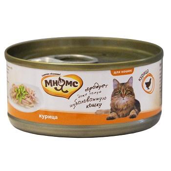 Мнямс консервы для кошек с курицей в желе