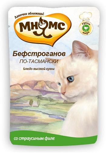 Мнямс Бефстроганов по-Таански пауч для кошек