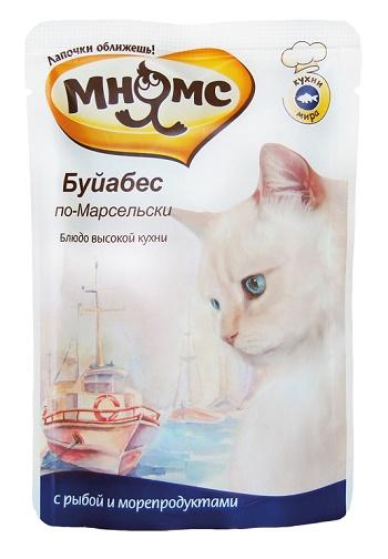 Мнямс Буйабес по-Марсельски пауч для кошек