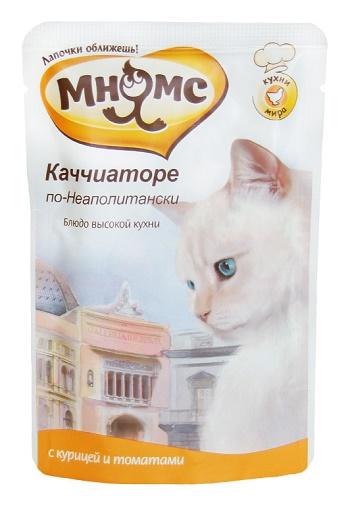 Мнямс Каччиаторе по-Неаполитански пауч для кошек