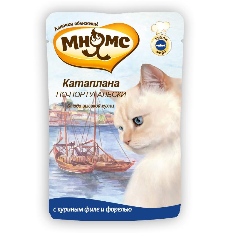 Мнямс Катаплана по-Португальски пауч для кошек