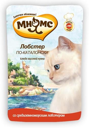 Мнямс Лобстер по-Каталонски пауч для кошек