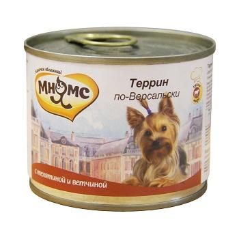 Мнямс Террин по-Версальски консервы для собак