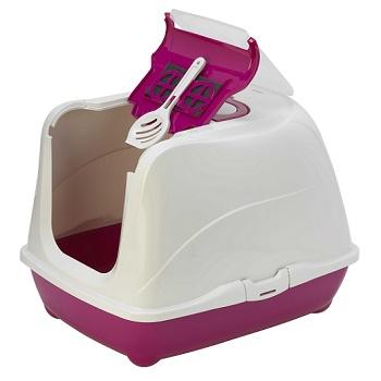 Moderna туалет закрытый Flip Cat красный 57,6x43,9x41 (C240-202)