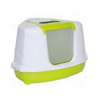 Moderna туалет закрытый Flip Corner угловой зеленый 55,7x45,1x38,2 (C250-173)