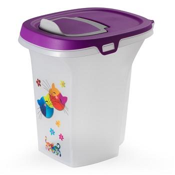 "Moderna Trendy Story контейнер для корма 6 л ""Друзья навсегда"" фиолетовый (F500-157)"