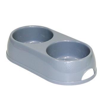 Moderna миска Double Eco Bowls двойная синяя 2x0,23 л (H121-021)