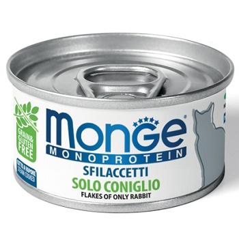 Monge Cat Monoprotein консервы для кошек с кроликом