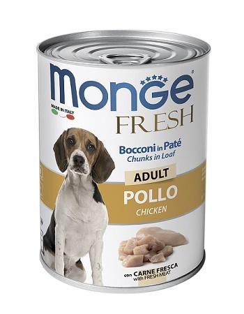 Monge Dog Fresh Adult консервы для собак с курицей