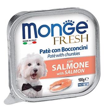 Monge Dog Fresh консервы для собак с лососем