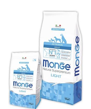 Monge Speciality Light корм для взрослых собак всех пород