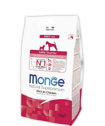 Monge Daily Starter Mini корм для щенков мелких пород