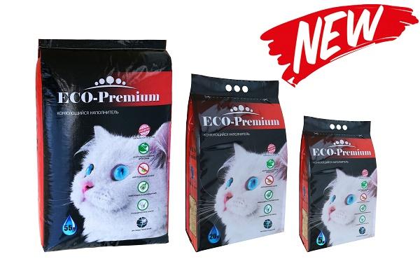 Новинка - наполнитель ECO-Premium!