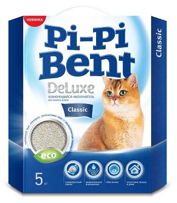 Pi-Pi-Bent DeLuxe Classic наполнитель комкующийся