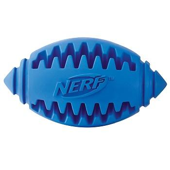 Nerf Dog игрушка мяч для регби рифленый 10 см (22361)
