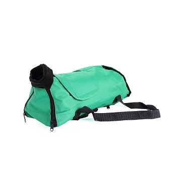 OSSO сумка-фиксатор для кошек зеленая размер M