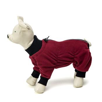 OSSO комбинезон для собак из флиса размер 45 (девочка)
