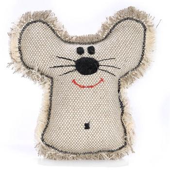 """OSSO игрушка для собак из эко ткани """"Мышь"""""""