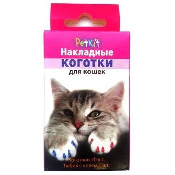 Petkit накладные коготки L для кошек (свыше 6 кг)