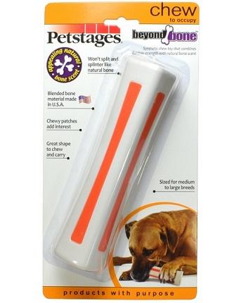 Petstages Beyond Bone игрушка для собак с ароматом косточки 18 см