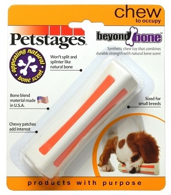 Petstages Beyond Bone игрушка для собак с ароматом косточки 11 см